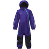 Bergans Kids Lilletind Coverall Lavender/Navy/Br Sea Blue
